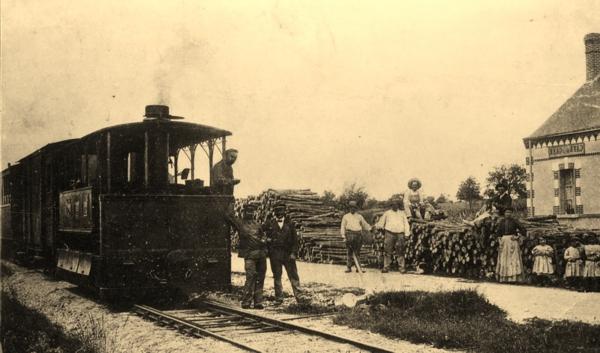 Ancienne gare de montrieux en sologne